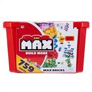 Max Build Κουτί Αποθήκευσης Με 759 Τουβλάκια