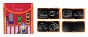 TUMAMA βιβλίο ζωγραφικής TM183 οχήματα 11 σελίδες 12 μαρκαδόροι
