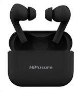 HIFUTURE earphones TrueAir ANC true wireless με θήκη φόρτισης μαύρα