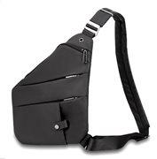 ARCTIC HUNTER τσάντα crossbody XB00041-BK αδιάβροχη μαύρη
