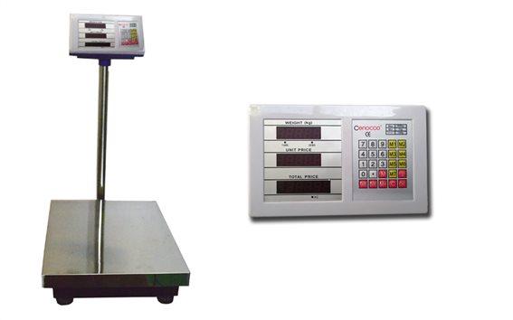 Cenocco CC-8004 Επαγγελματική Ζυγαριά Ακριβείας 300 κιλά με υπολογισμό συνόλου αξίας