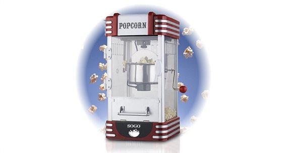 SOGO συσκευή PopCorn XXL Πόπ Κόρν 310W Retro Old Fashioned, Pop Corn Maker, PAL-SS-11350