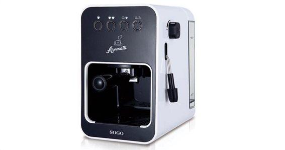 Καφετιέρα Espresso 15 Bar 1050W, SOGO CAF-SS-5650