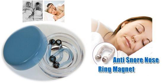Wellys Ρινοδιαστολέας Συσκευή κατά του Ροχαλητού με Μαγνητικό Δαχτυλίδι Μύτης 2τμχ