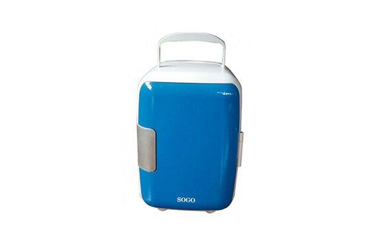 Sogo Mini Φορητό Ψυγείο 4L Μπλέ με Επιλογή για Ζεστή ή Κρύο NEV-SS-464Β