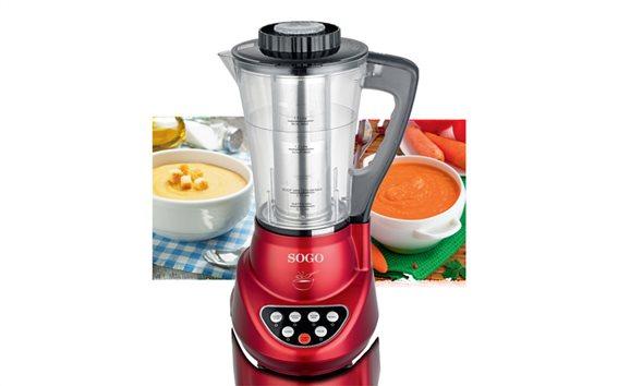 SOGO Επαγγελματικό Μπλέντερ Πολυμηχάνημα Κουζίνας (Blender) 900W με δοχείο 1.7L, BAT-SS-14600