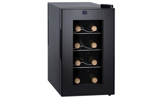 SOGO Ψυγείο Συντηρητής Κρασιών 23L 8 φιαλών με LED οθόνη θερμοκρασίας, NEV-SS-144