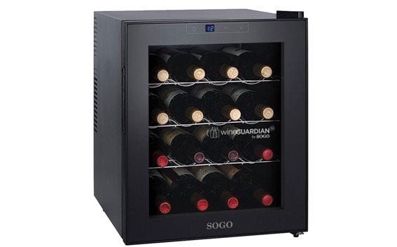 SOGO NEV-SS-150 Ψυγείο Συντηρητής Κρασιών 46L 16 φιαλών με LED οθόνη θερμοκρασίας