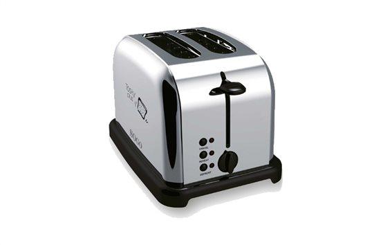 SOGO Μοντέρνα και Κομψή Ανοξείδωτη Φρυγανιέρα 850-1000W 2 θέσεων Stainless Steel Toaster, SS-1091