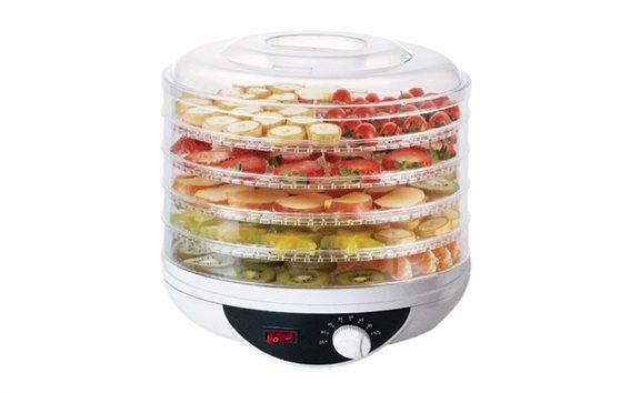 Muhler Αποξηραντής τροφίμων, φρούτων και λαχανικών 250W 28x20x28cm, DHY-500T
