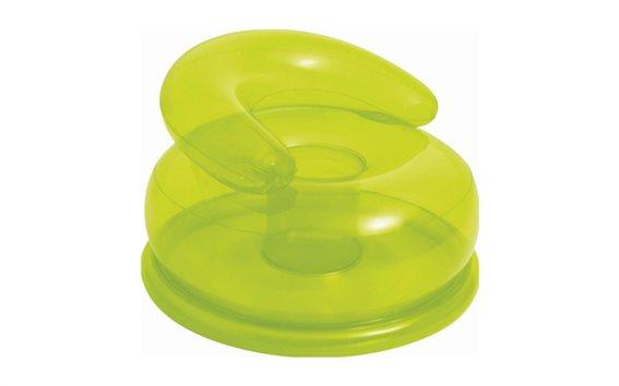Intex Φουσκωτή Πολυθρόνα για παιδιά 66x42cm σε Πράσινο χρώμα 48509NP