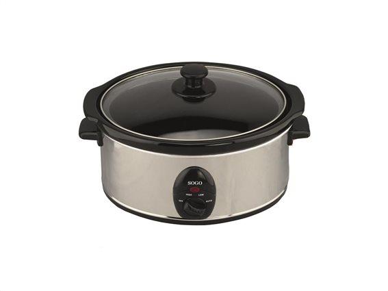 SOGO Πολυμάγειρας Slow Cooker 200W Χωρητικότητας 3.5lt, ARR-SS-10055