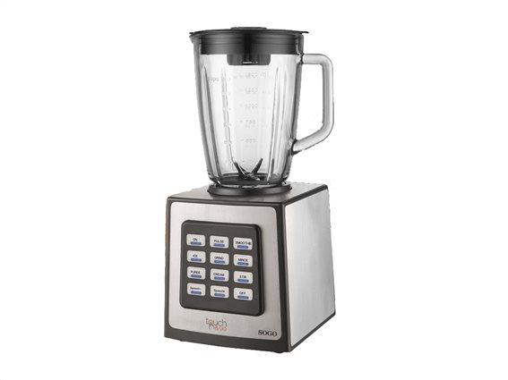 SOGO Επαγγελματικό Αυτόματο Μπλέντερ Πολυμηχάνημα Κουζίνας Blender 1250W με δοχείο 15.L, BAT-SS-5050