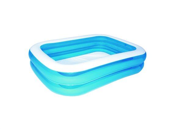 Bestway Φουσκωτή Πισίνα για Εξωτερικό χώρο 262x175x51cm σε Μπλε χρώμα, 54006B