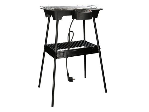 Cuisinier Deluxe Ηλεκτρική Σχάρα Ψησταριά Μπάρμπεκιου BBQ Γκριλ Grill 2000W, 02822
