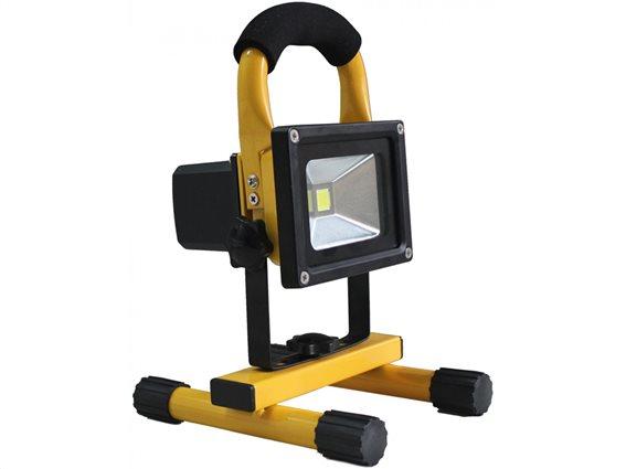 Camry Φορητός Προβολέας LED 10W Υψηλής Φωτεινότητας 1000-1100LM σε Κίτρινο χρώμα, CR 1027