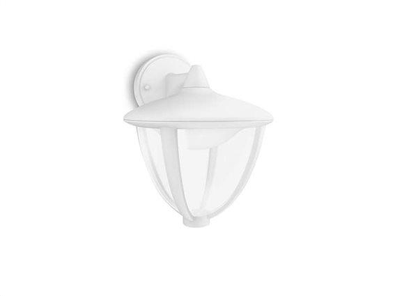 Philips myGarden LED Φωτιστικό 4.5W εξωτερικού χώρου IP44 τοίχου σε Λευκό χρώμα