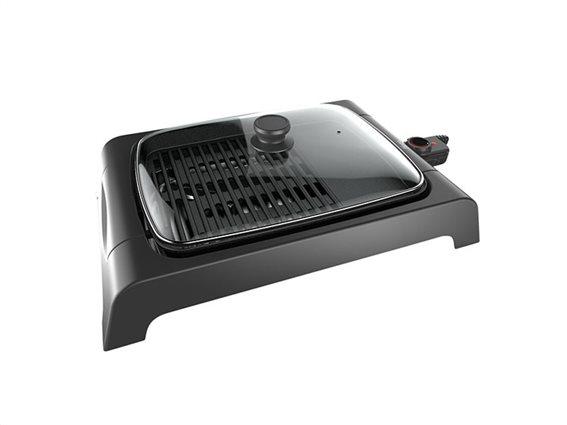 Homa Επιτραπέζια Ηλεκτρική Σχάρα Ψησταριά Μπάρμπεκιου BBQ Γκριλ Grill 2000W, HG-4033G
