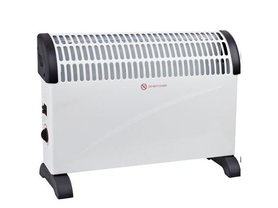 Muhler Ηλεκτρικό Θερμαντικό Σώμα Convector 2000W με 3 επίπεδα θέρμανσης, CH-2012B