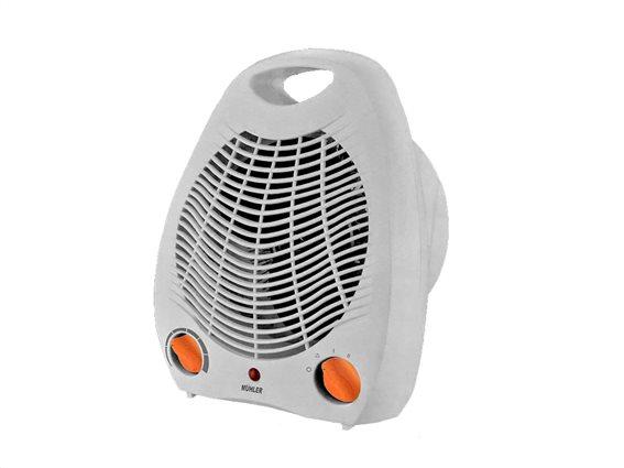 Muhler Αερόθερμο δαπέδου 2000W με 2 Επίπεδα Θέρμανσης σε Λευκό χρώμα, MFH-2013