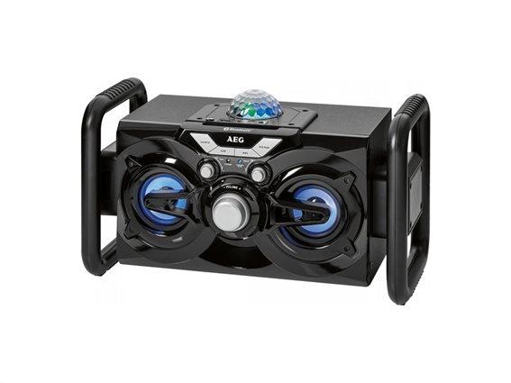 AEG Karaoke Καραόκε Ηχοσύστημα για καραόκε με 2 Ηχεία 10W, EC 4844