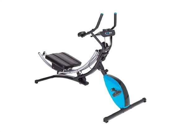 Μαγνητικό Ποδήλατο Γυμναστικής 122x51x23cm με 4 διαφορετικές λειτουργίες εκγύμνασης , AB Bike ABB002