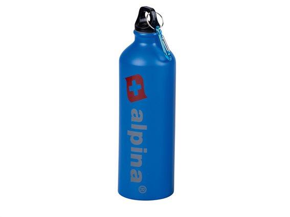 Alpina Switzerland Αλουμινένιο Μπουκάλι Παγούρι 750ML, 22898 Μπλε