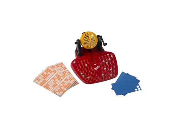 Eddy Toys Επιτραπέζιο Παιχνίδι Μπίνγκο Bingo 25x28.5x26.5cm με 48 Κάρτες και 90 Νούμερα, 53586