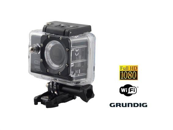 Grundig Υποβρύχια Action Camera Κάμερα για Sports HD 1080p Ultra Wide φακό 170° με WiFi, 06394