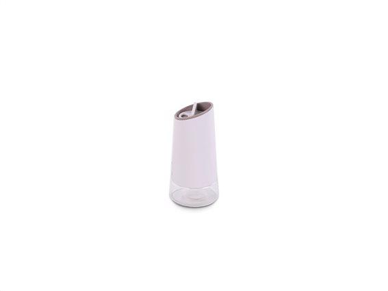 Μοντέρνο Γυάλινο Αλατοπίπερο σε καφέ χρώμα, Norsk Series, Luigi Ferrero FR-1432BGM