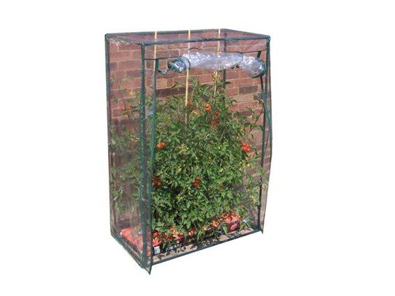 Μικρό Ερασιτεχνικό Θερμοκήπιο για Ντομάτες και άλλα Λαχανικά σε Πράσινο Χρώμα, 102x51.5x152cm