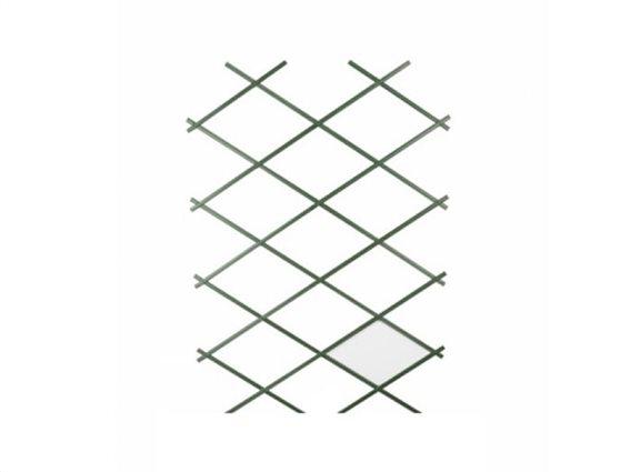Kinzo Πλαστική Ανοιγόμενη πέργκολα Πλέγμα Αναρρίχησης Υποστήριξης Φυτών, 180x90cm