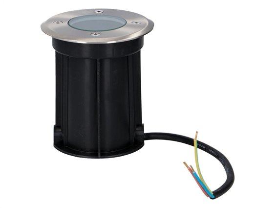 Grundig Αδιάβροχο Φωτιστικό Εδάφους IP65 Εσωτερικού και Εξωτερικού χώρου 11x11x13cm, Spot light