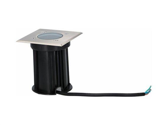 Grundig Αδιάβροχο Φωτιστικό Εδάφους IP65 Εσωτερικού και Εξωτερικού χώρουmax35W, 11x11x13cm