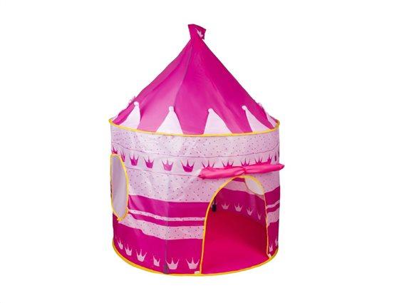 Play Tent Παιδική Σκηνή Pop Up Κάστρο Ροζ 135x105cm