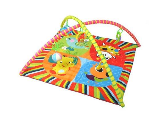 Εκπαιδευτικό Παιδικό Γυμναστήριο με παιχνιδάκια που κρέμονται και θέμα ζωάκια, General