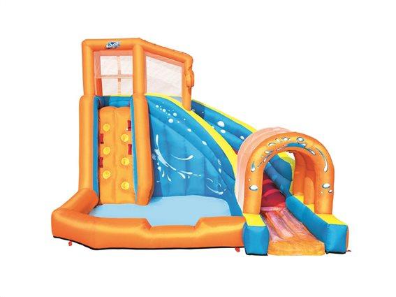 Bestway H2OGO! Waterpark Φουσκωτός Παιδότοπος με πισίνα, 420x320x260cm
