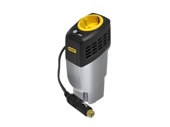 Stanley Μετατροπέας Ρεύματος Αυτοκινήτου 100W Power Inverter, PC100C-E