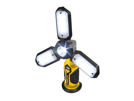 Stanley Φακός με 18 LED 300lum, 5 διαφορετικές λειτουργίες και μαγνητική βάση, SAT3S