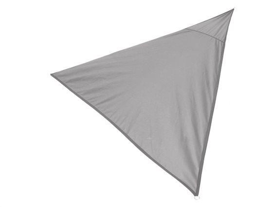 Sunny Days Αντηλιακή Τριγωνική Τέντα Σκίαστρο διαστάσεων 3x3x3 μέτρα σε Γκρι χρώμα