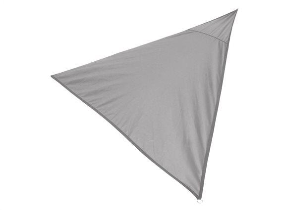 Sunny Days Αντηλιακή Τριγωνική Τέντα Σκίαστρο διαστάσεων 3.6x3.6x3.6 μέτρα σε Γκρι χρώμα