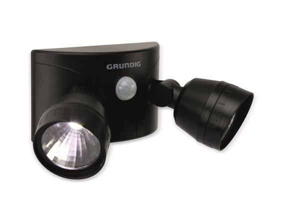 Grundig Διπλός Προβολέας LED με Ανιχνευτή Κίνησης 10m και γωνία ανίχνευσης 120°