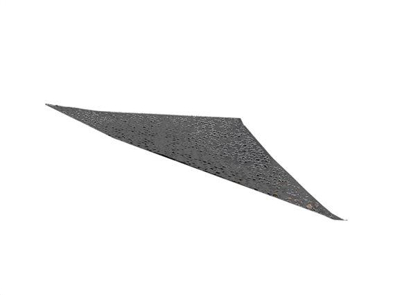 Αντηλιακή Τριγωνική Τέντα Σκίαστρο Στρατιωτικού τύπου Camouflage 3.6x3.6x3.6 m, σε Χρώμα Γκρι