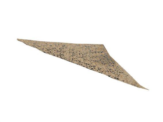Αντηλιακή Τριγωνική Τέντα Σκίαστρο Στρατιωτικού τύπου Παραλλαγής 3.6x3.6x3.6μ, σε Xρώμα Mπεζ