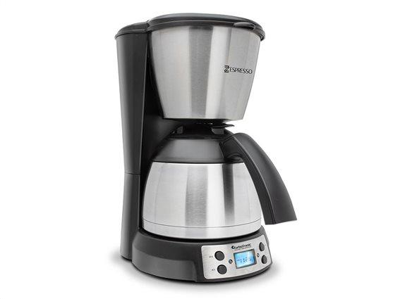 TurboTronic Καφετιέρα Φίλτρου Εσπρεσσο 800W σε χρώμα ασημί, ZEspresso TT-CM21