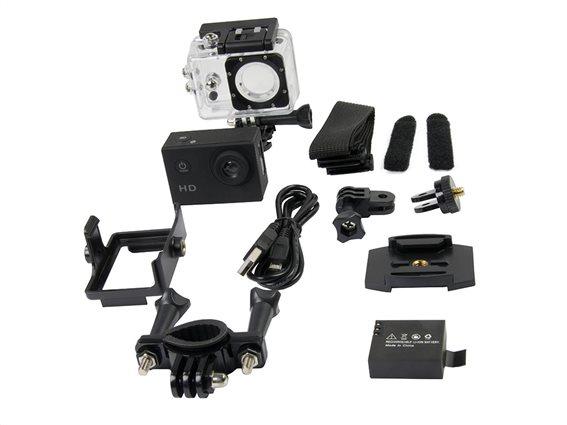Grundig Υποβρύχια Action Camera Κάμερα για Σπορ HD 720P, 3x4x6 cm