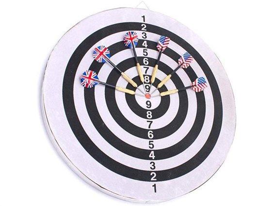 Παιχνίδι Στόχου με Βελάκια, διαστάσεις 45x45x45 εκατοστά, Eddy Toys