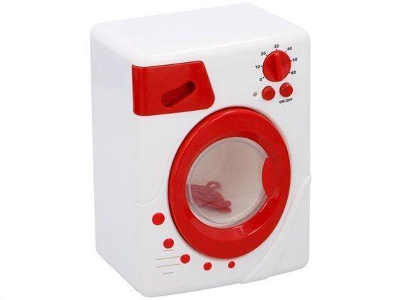 Eddy Toys Παιδικό Παιχνίδι Πλυντήριο με ήχο και φωτάκι, διαστάσεις 13.8x10.5x18.8 εκατοστά