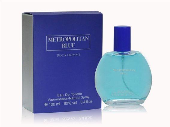Aria Trade Ανδρικό Άρωμα Metropolitan Blue Eau de Parfum 100ml