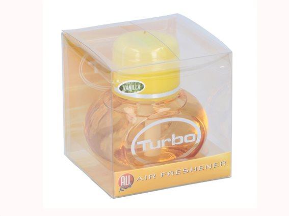 Υγρό Αρωματικό Χώρου σε άρωμα Βανίλιας, 150ml, All Ride Turbo Air Freshener